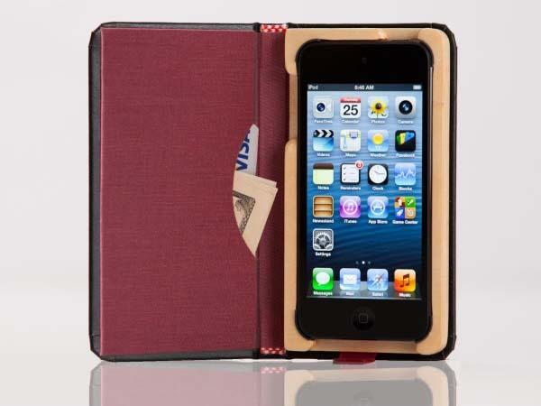 Pad&Quill Little Black Book iPod Touch 5G Case
