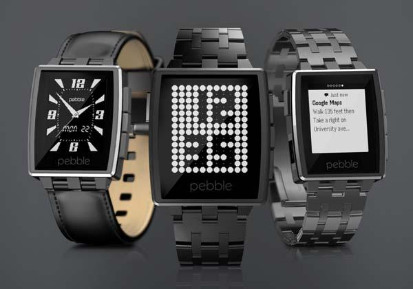 Pebble Steel Smart Watch Announced