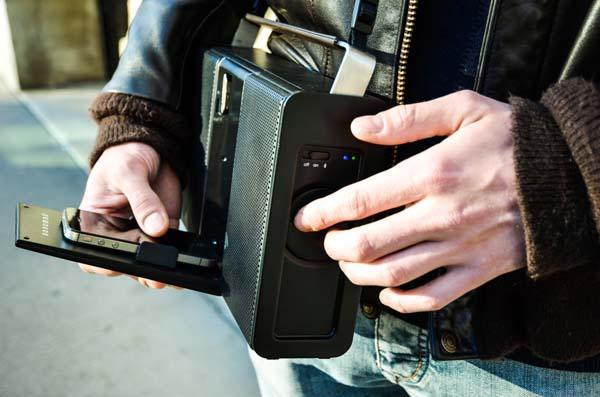 Sonomad Retro Portable Bluetooth Speaker