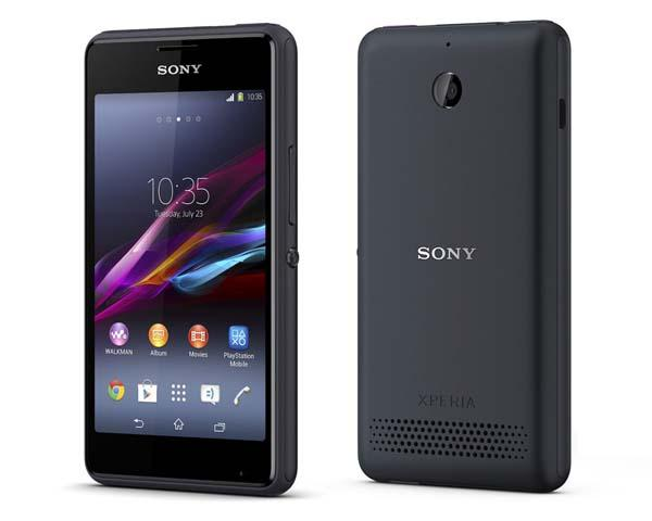 Sony Xperia E1 Android Phone Announced