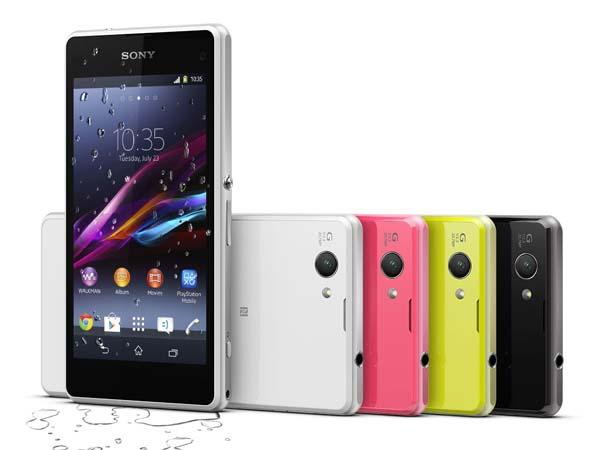Sony Xperia Z1 Compact Android Phone Revealed