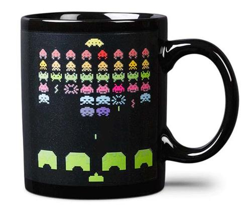 Space Invaders Heat Transfer Coffee Mug