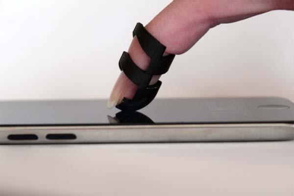 Taptool Wearable Accessory for Improved Touchscreen Experience
