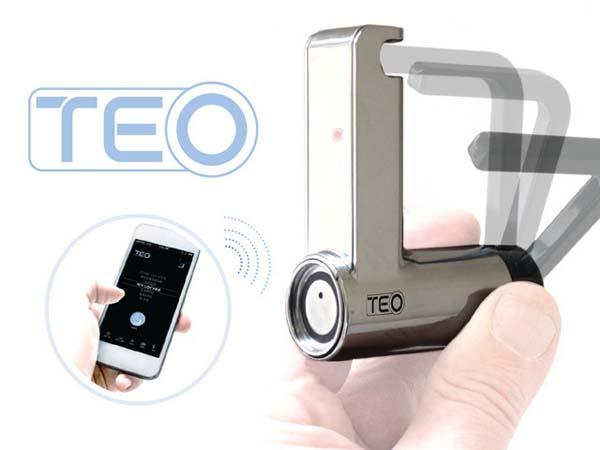 TEO Bluetooth-Enabled Padlock