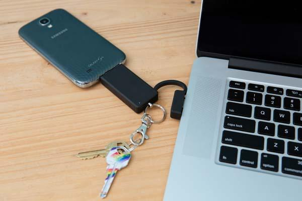 The Power Boost Keychain with Backup Battery