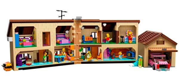 The Simpsons House LEGO Set Announced