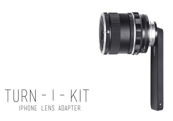 Turn-i-Kit Lens Adapter for iPhone 5/5s