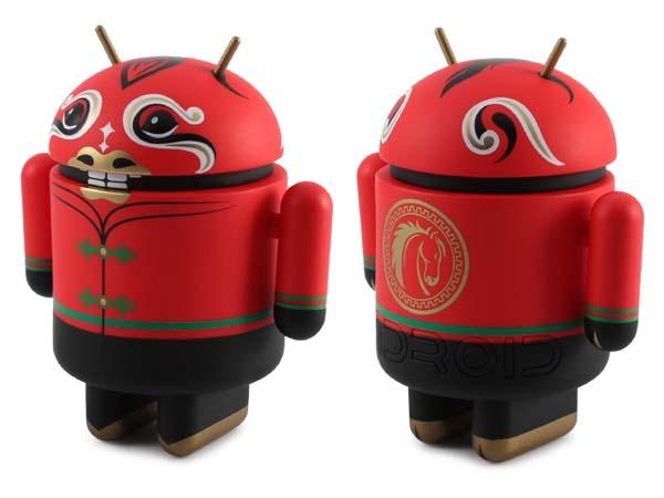 Year of Horse Collectible Android Mini Figure