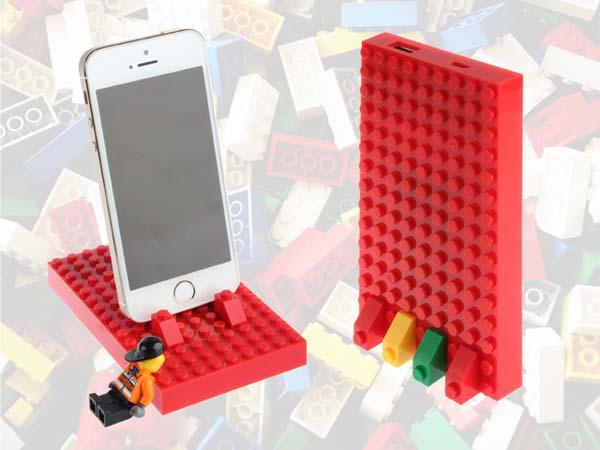 COL+ LEGO Power Brick Customizable Backup Battery