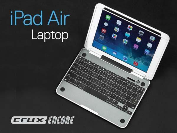 CruxCase CruxENCORE iPad Air Keyboard Case