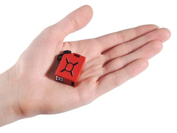 Fuel Jerrycan Styled Tiny Phone Charger