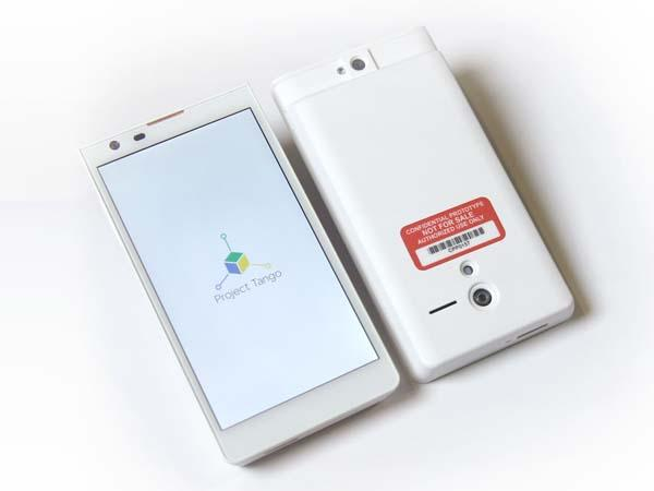 Google Project Tango Smartphone Unveiled
