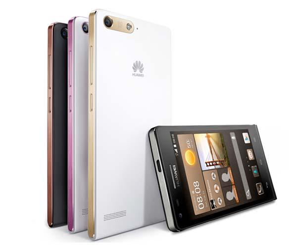 Huawei Ascend G6 4G Android Phone Announced