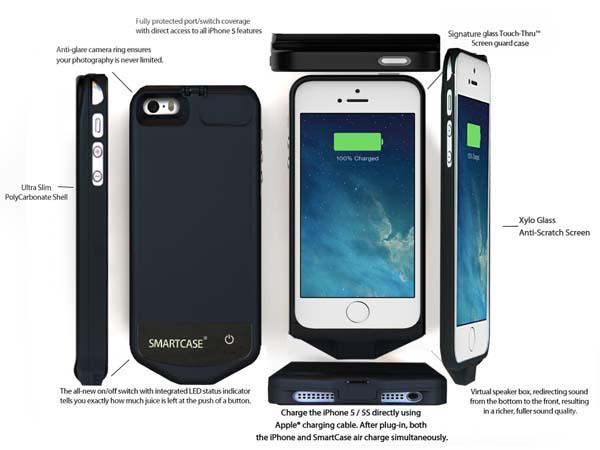 IvySkin SmartCase Air iPhone 5s Battery Case