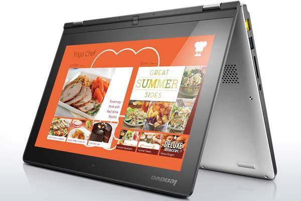 Lenovo Yoga 2 Multimode Touchscreen Laptop Announced