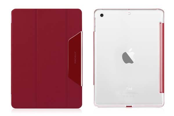 Macally Clear iPad Air Case with Reversible Cover
