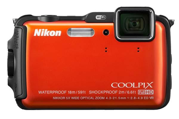 Nikon COOLPIX AW120 Waterproof Camera Announced
