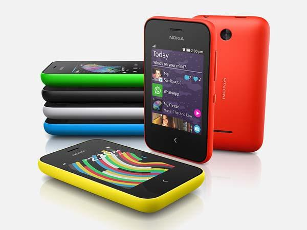 Nokia Asha 220 and 230 Low-Cost Feature Phones Announced