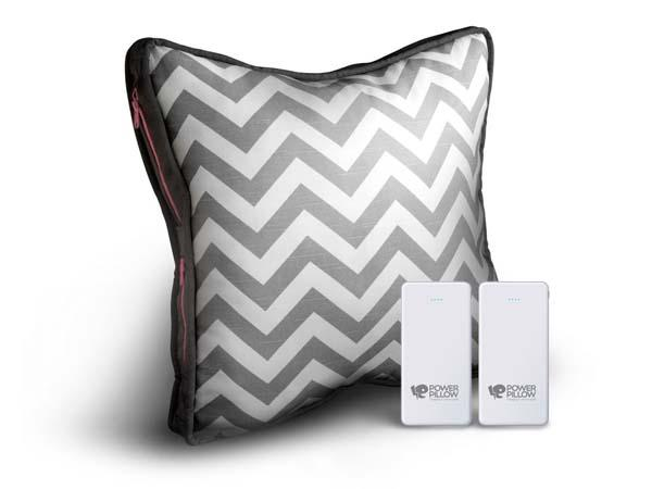 Power Pillow with Removable Backup Battery