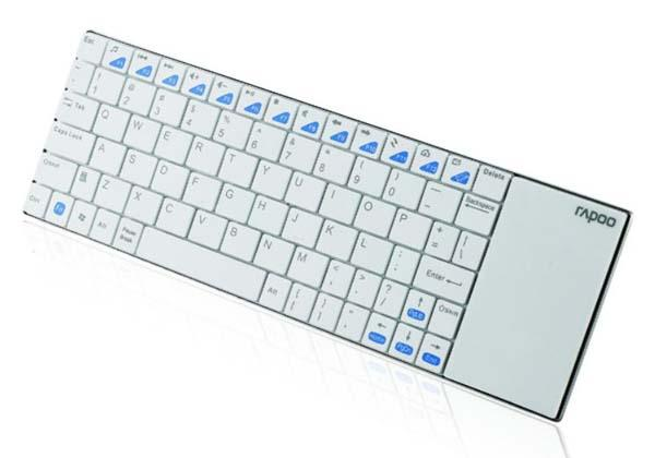 Rapoo E2700 Ultra-Slim Wireless Keyboard with Touchpad