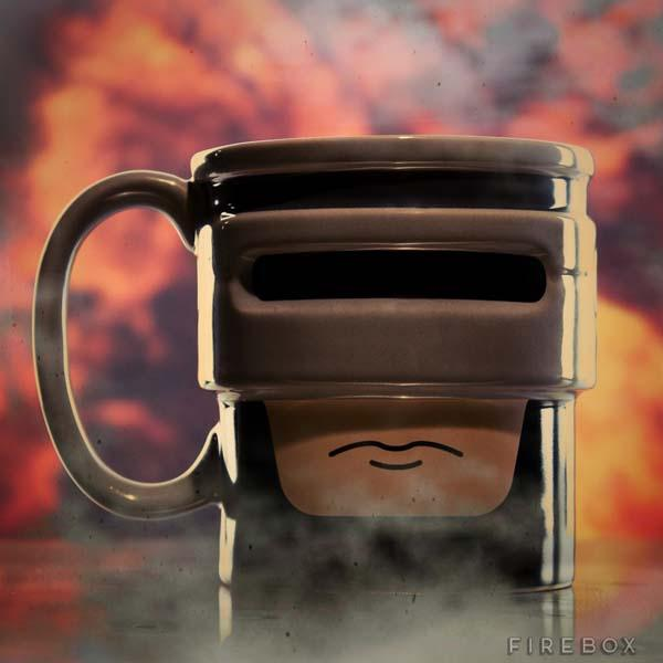 Robocup A Robcop Inspired Coffee Mug