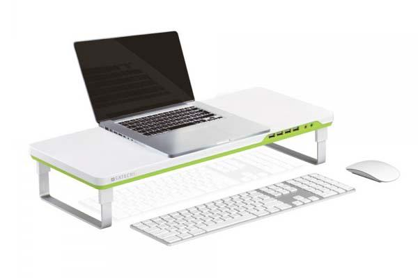 Satechi F1 Smart Monitor Stand with USB Hub