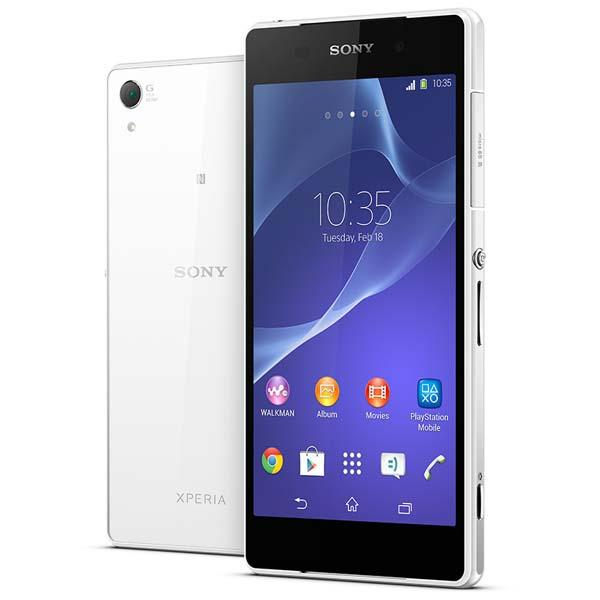 Sony Xperia Z2 Waterproof Android Phone Announced