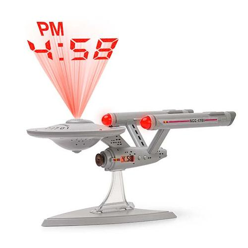 Star Trek USS Enterprise Projection Alarm Clock