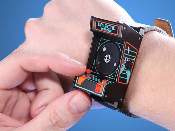 The Classic Arcade Cabinet Wrist Watch