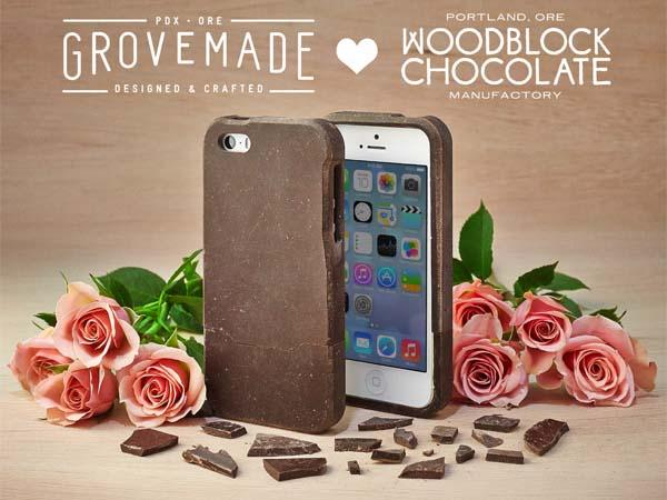 The Delicious Chocolate iPhone 5s Case