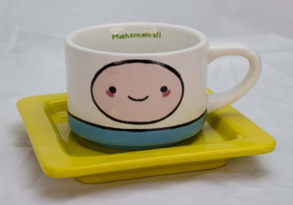 The Handmade Adventure Time Coffee Mug and Coaster