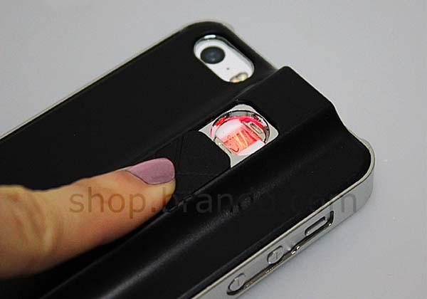 The iPhone 5s Case with Built-In Lighter