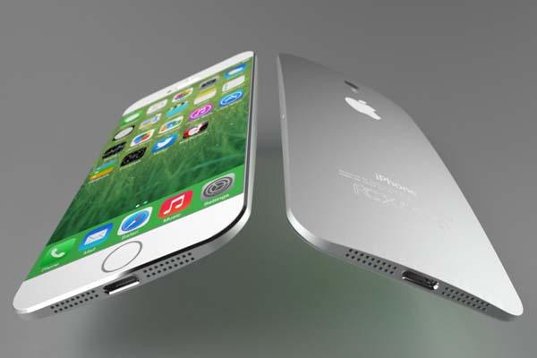 The iPhone 6 Design Concept with Larger Screen and Curved Back