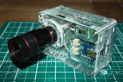 The SnapPiCam A Raspberry Pi Powered Compact Camera