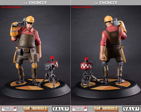 The Team Fortress 2 Engineer Collectible Statue