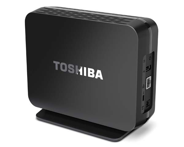 Toshiba Home Backup & Share Network Storage Device