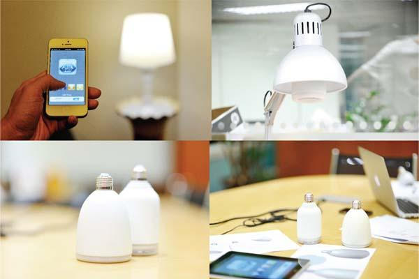 AirBulb App Controlled LED Bulb with Bluetooth Speaker