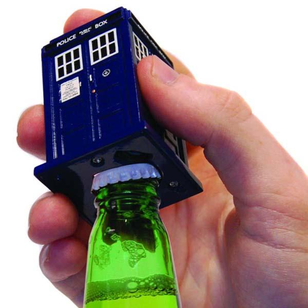Doctor Who TARDIS and Dalek Bottle Openers