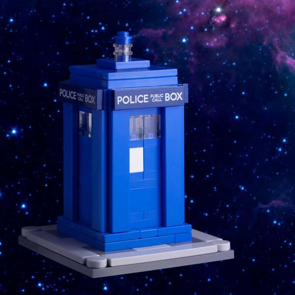 Doctor Who TARDIS LEGO Building Kit