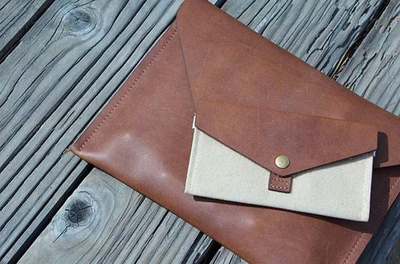 DODOcase Leather & Canvas Phone Case
