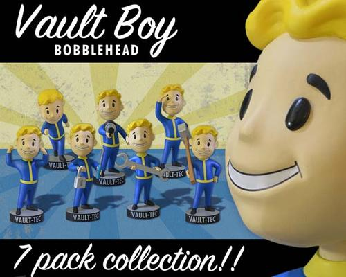 Fallout Vault-Tec Vault Boy Bobble Heads