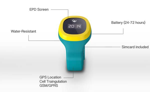 hereO GPS-Enabled Smart Watch for Kids
