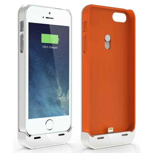 Jackery Leaf Battery Case for iPhone 5/5s