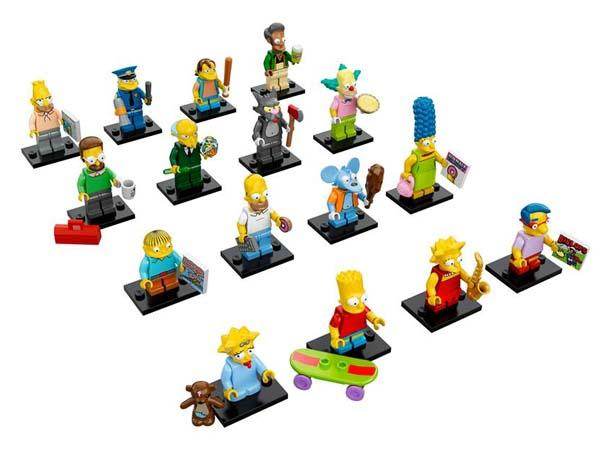 LEGO The Simposins Minifigure Series Unveiled