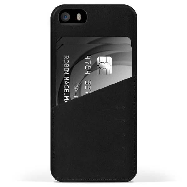 Mujjo Leather Wallet iPhone 5s Case