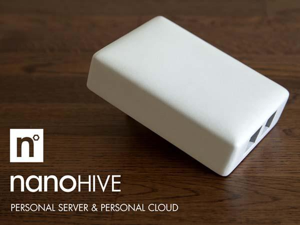 Nanohive Personal Server and Cloud Storage