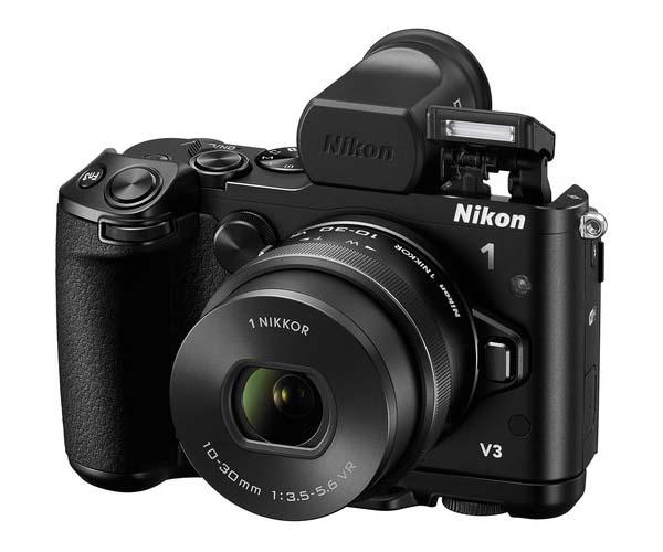 Nikon 1 V3 Interchangeable Lens Mirroless Camera Announced