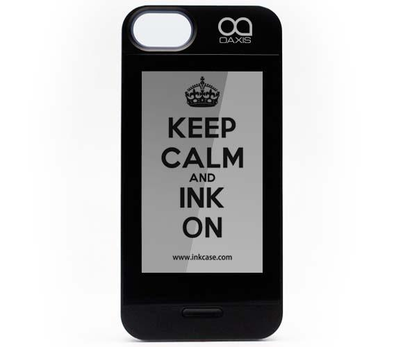 Oaxis InkCase iPhone 5s Case with an E-Paper Display