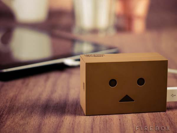 Robot Danbo Inspired Backup Battery