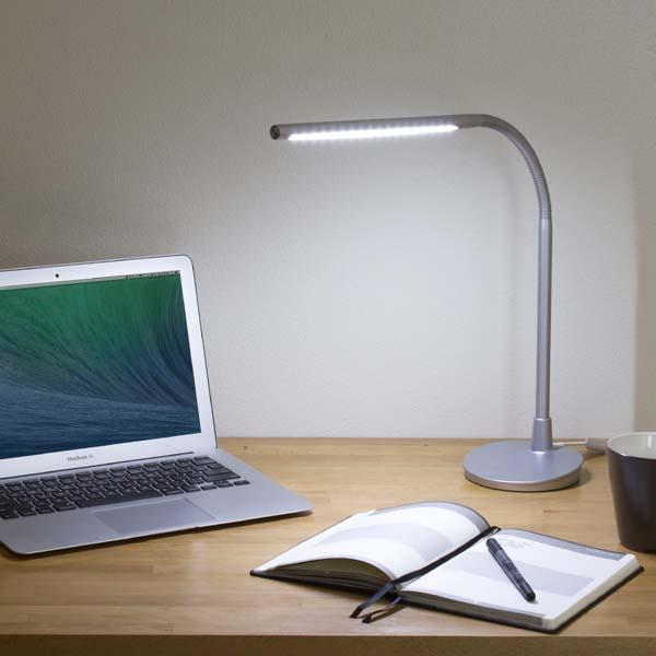 Satechi Flexible LED Desk Lamp with USB Charger